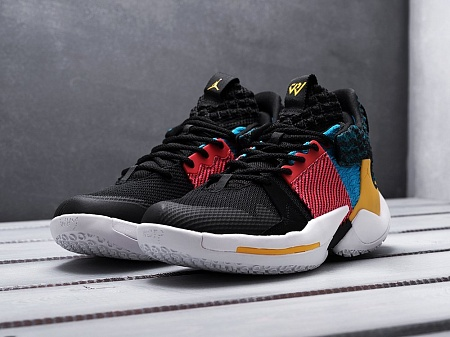 Кроссовки Nike Jordan Why Not Zer0.2 (разноцветный) - изображение №2